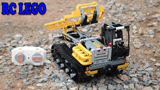 Lắp Ráp Xe Chở Gỗ RC LEGO Hơn 1000 Chi Tiết 😭 điều khiển từ xa