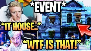 "STREAMERS REACT TO *NEW* ""IT CHAPTER 2 LTM"" *EVENT* IN FORTNITE SEASON 10!"