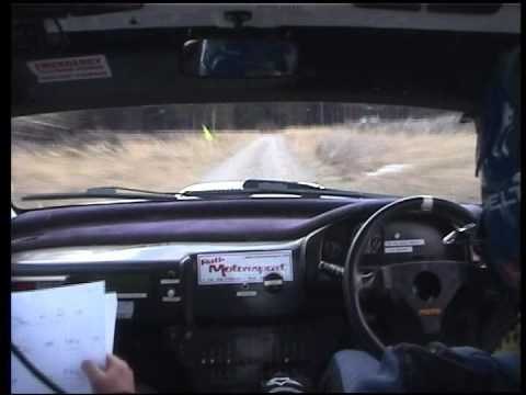 Moonraker Forest Rally 2009 - Trevor J Harding & Andrew Purcell - Stage 8