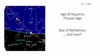 21.12.2020: Star of Bethlehem in the Age of Aquarius - Saturn Jupiter Conjunction - short info