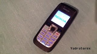 Nokia 2610 retro review (old ringtones, themes & games)