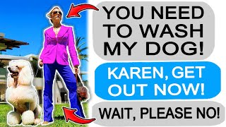 r/Entitledparents Karen MOTHER Demands I Groom her Dog,  I GET REVENGE!