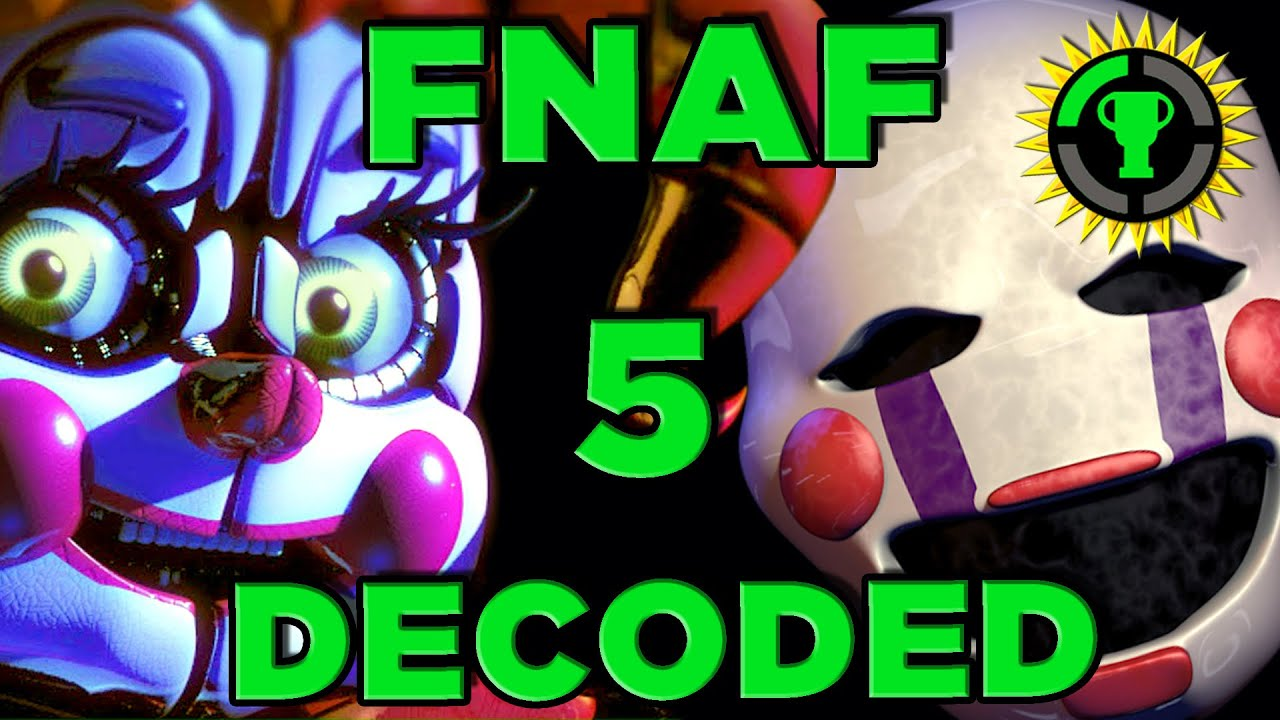 Game theory fnaf sister location decoded fnaf 5 youtube