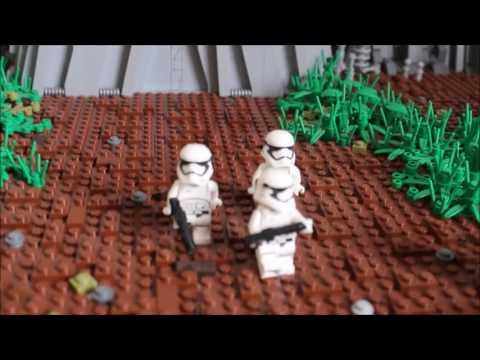 Lego Star Wars Moc auf Takodana - Sprachvideo Deutsch/German
