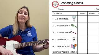 The Grooming Checklist Song - look good for school and work with Ms. Marlowe