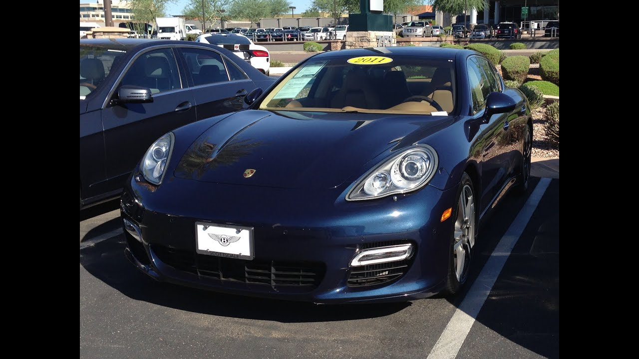 2011 Porsche Panamera Turbo For Sale at Scottsdale Bentley in