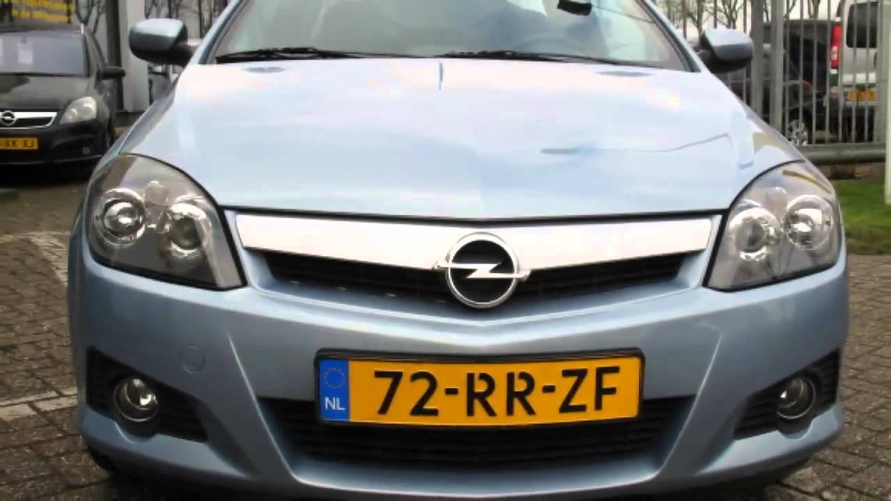 opel tigra twintop 1 8 16v 125pk sport navigatie youtube. Black Bedroom Furniture Sets. Home Design Ideas