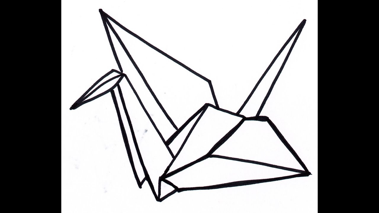 How to make a paper crane a special origami video youtube for How yo make a paper crane