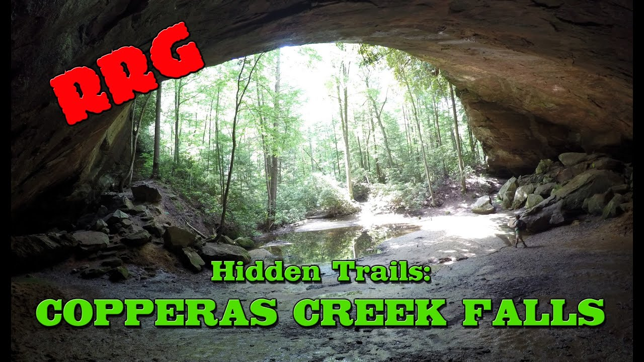 Hike to Copperas Creek Falls | Red River Gorge Unofficial Trail