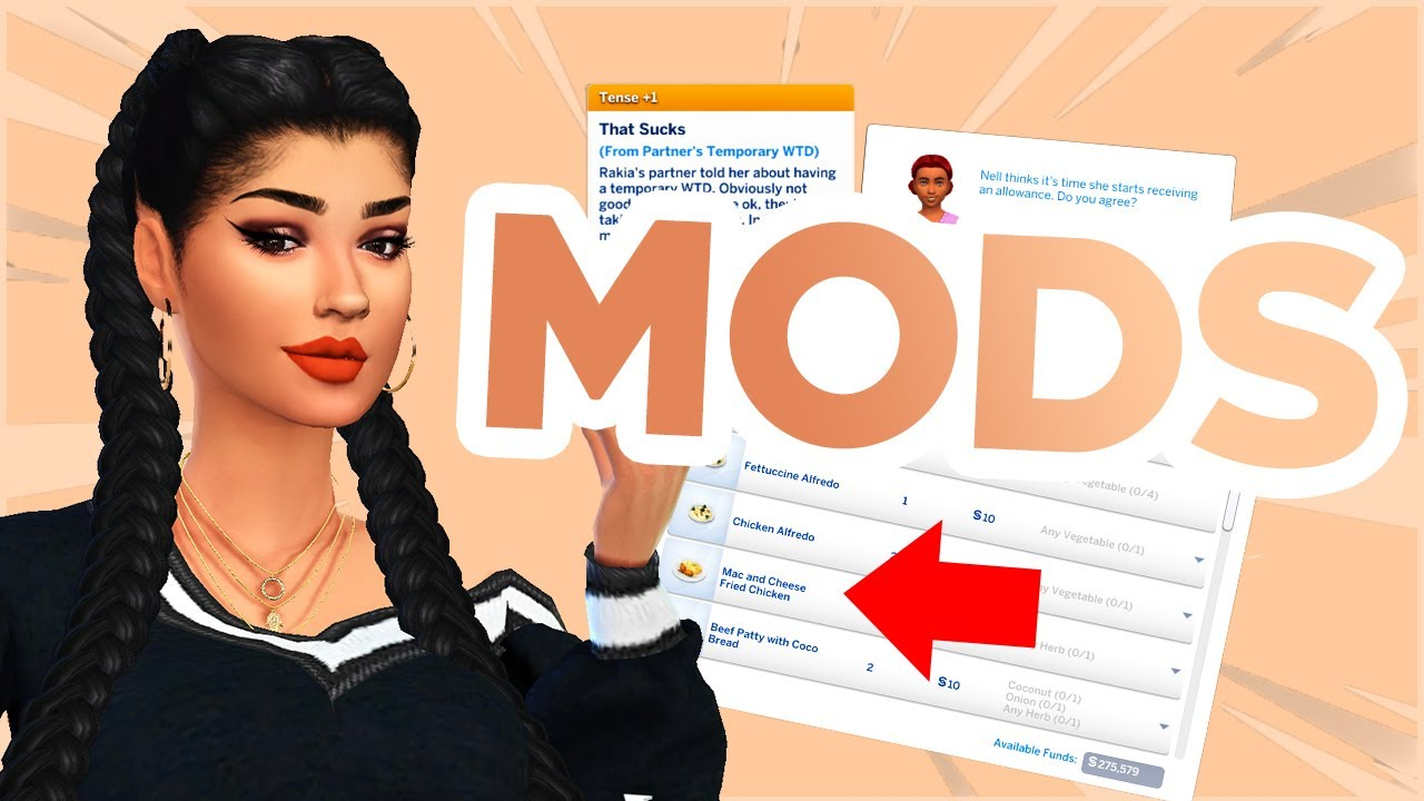 50  BEST MODS FOR THE SIMS 4 (Realistic   Improve Gameplay) // The Sims 4 mods 2020 YouTube