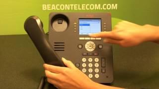 Avaya 9611g  Making a Conference Call