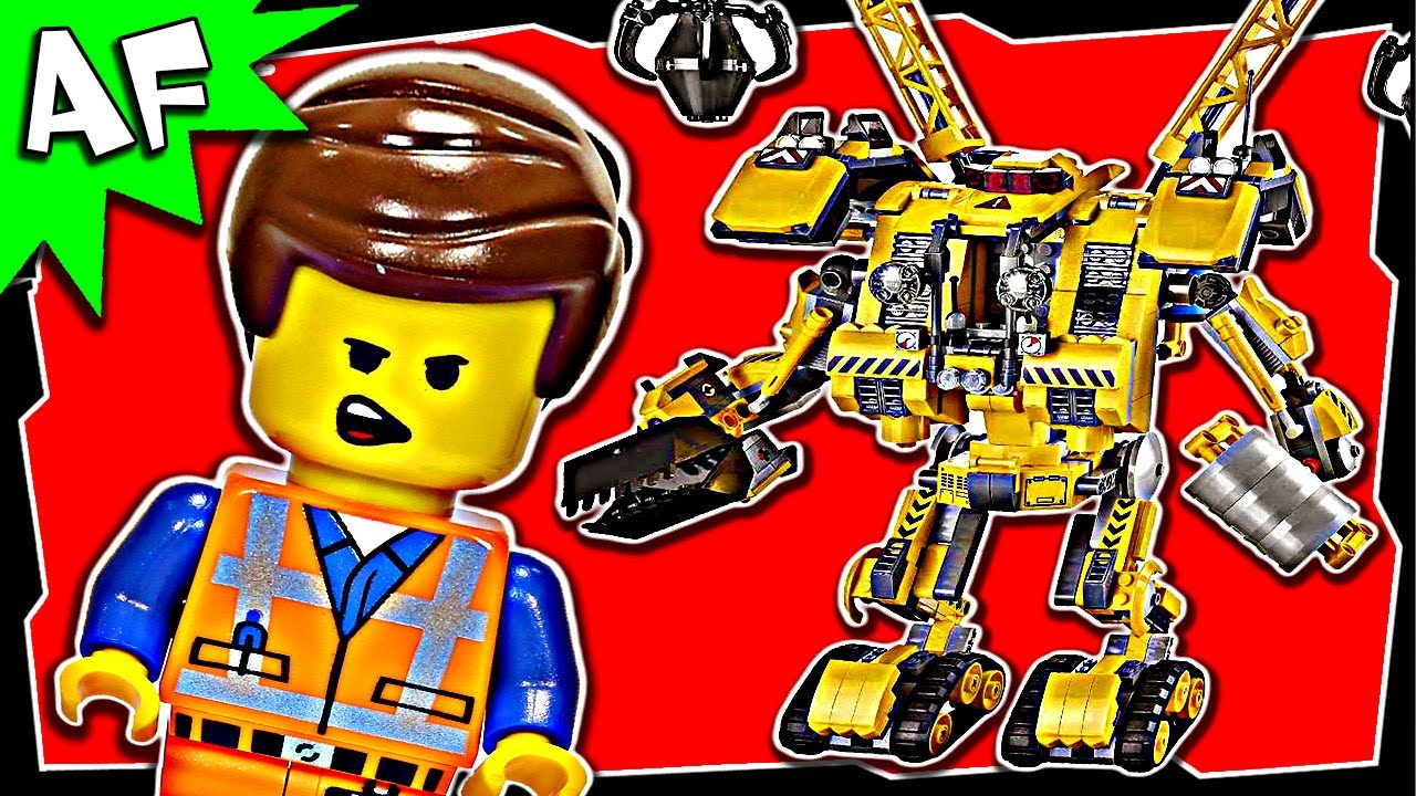 Lego Movie Emmets Constructo Mech 70814 Stop Motion Review Youtube