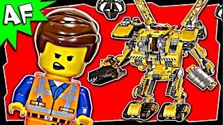 Lego Movie Emmet's CONSTRUCTO MECH 70814 Stop Motion Review thumbnail