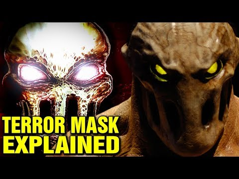 TERROR MASK EXPLAINED - SPLATTERHOUSE HISTORY AND LORE - WHAT IS THE MASK IN SPLATTERHOUSE?