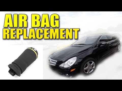2006 Mercedes Benz R-350 Air Bag Replacement