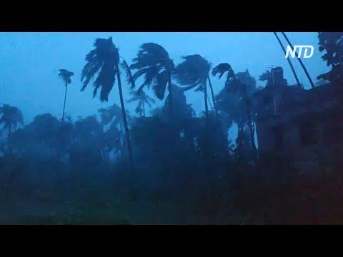 Циклон «Амфан» привёл к гибели людей в Индии и Бангладеш
