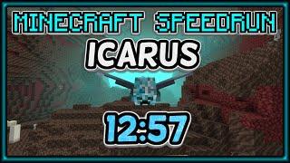 Minecraft Speedrun / 1.16 Icarus / WR of 12:57