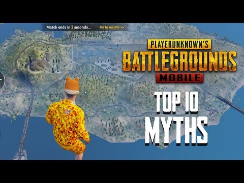 Top 10 Mythbusters in PUBG Mobile   PUBG Myths #3