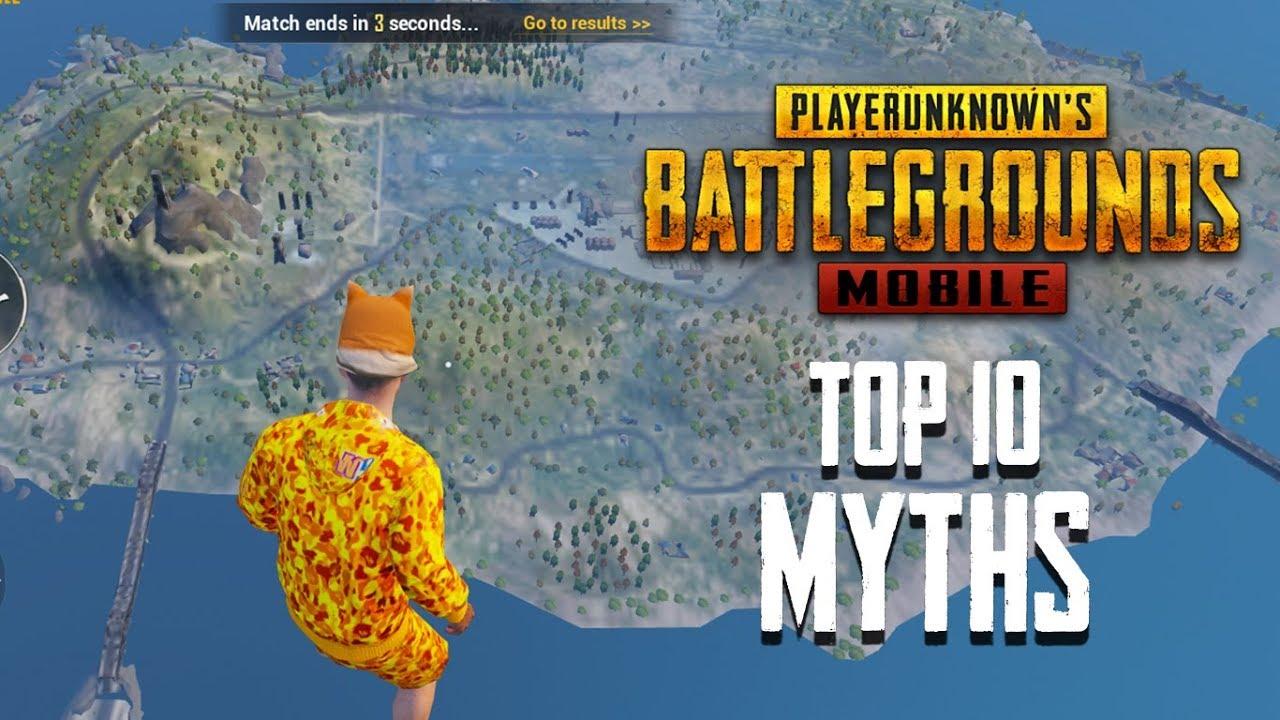 Os 10 melhores Mythbusters em PUBG Mobile | PUBG Mitos # 3 + vídeo