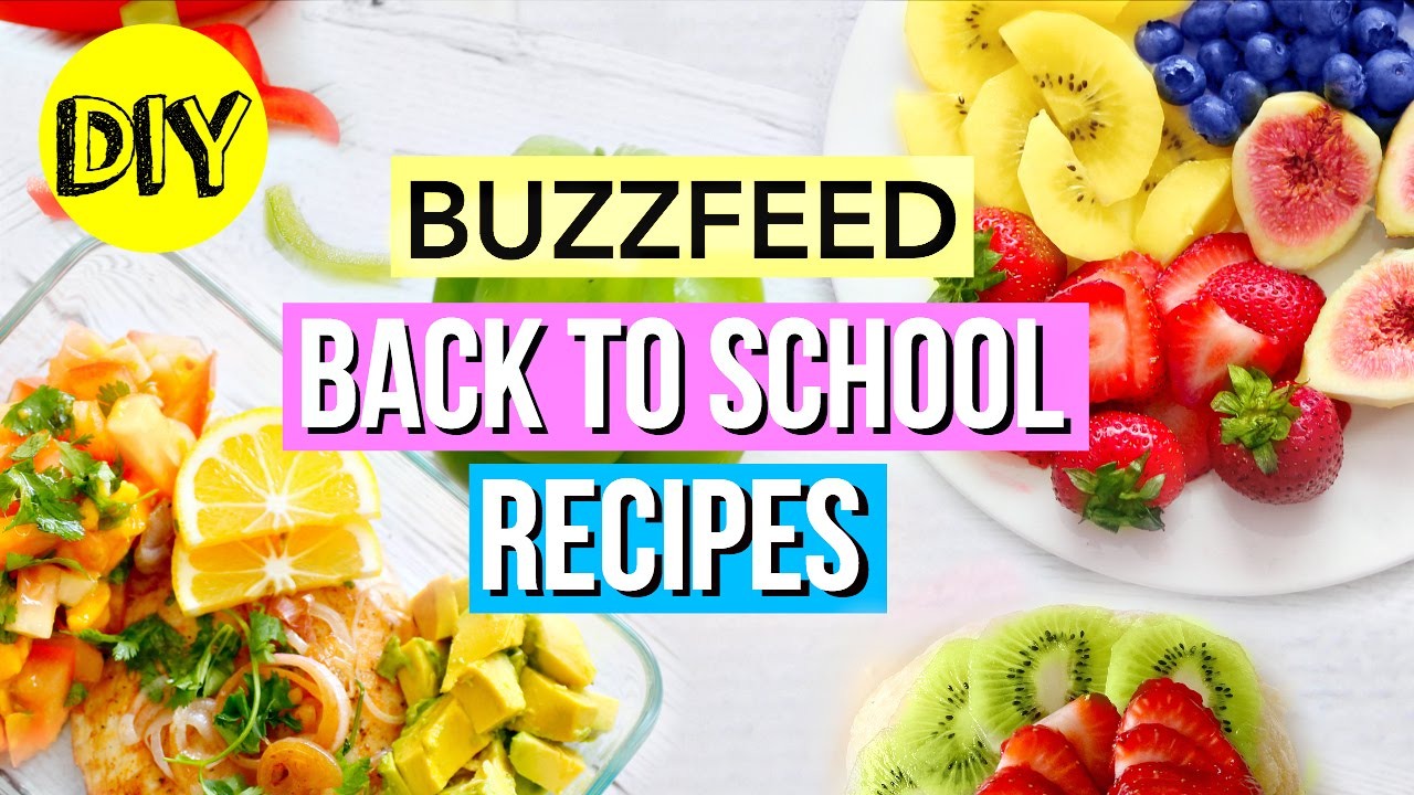 Buzzfeed recipes breakfast lunch ideas back to school youtube forumfinder Choice Image