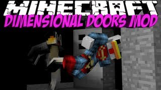 Dimension Mod: Minecraft Dimensional Doors Mod Showcase!