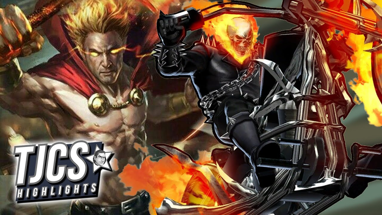 Ghost Rider And Helstrom Coming To Hulu