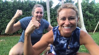Tabata Tuesday with CAT and Mel