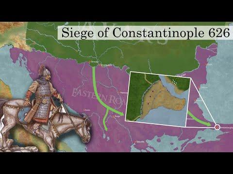 Avar-Slav-Persian Siege of Constantinople 626 (DOCUMENTARY)