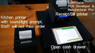 Eastroyce provides economic pos solutions for your business. restaurant /hotel/salon/retail... you only need: a phone/a pad plue one cash drawer to collect m...