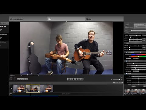 Film your band with GoPro: basic video editing using GoPro software