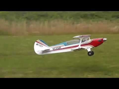 RC Great Planes Skybolt Crash