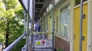 Asbestos removal the safe way in Holland.