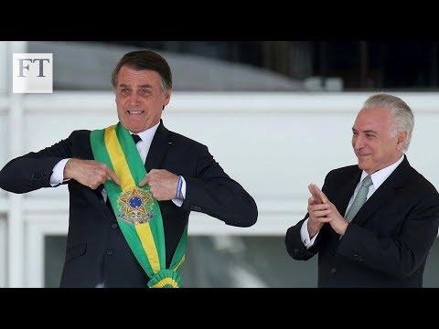 Jair Bolsonaro takes office in Brazil