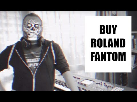 Playing through some arpeggiated presets (/rhythm-based scenes) on ROLAND FANTOM