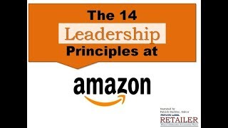 14 Amazon Leadership Principles Narr Patrick Bachler