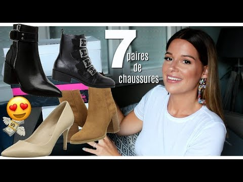HAUL CHAUSSURES AUTOMNE 2018