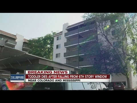 Toddler dies after falling from 6th-floor window at Denver apartment complex, manager confirms