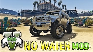 GTA 5 PC - No Water MOD +[How To Install]