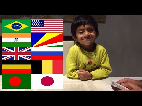 Flags of the World Game with Kabir|Learn Country Flags|Countries of the World|Kids Memory Game