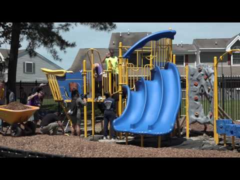 Dream playground becomes real at Sewells Point Elementary School