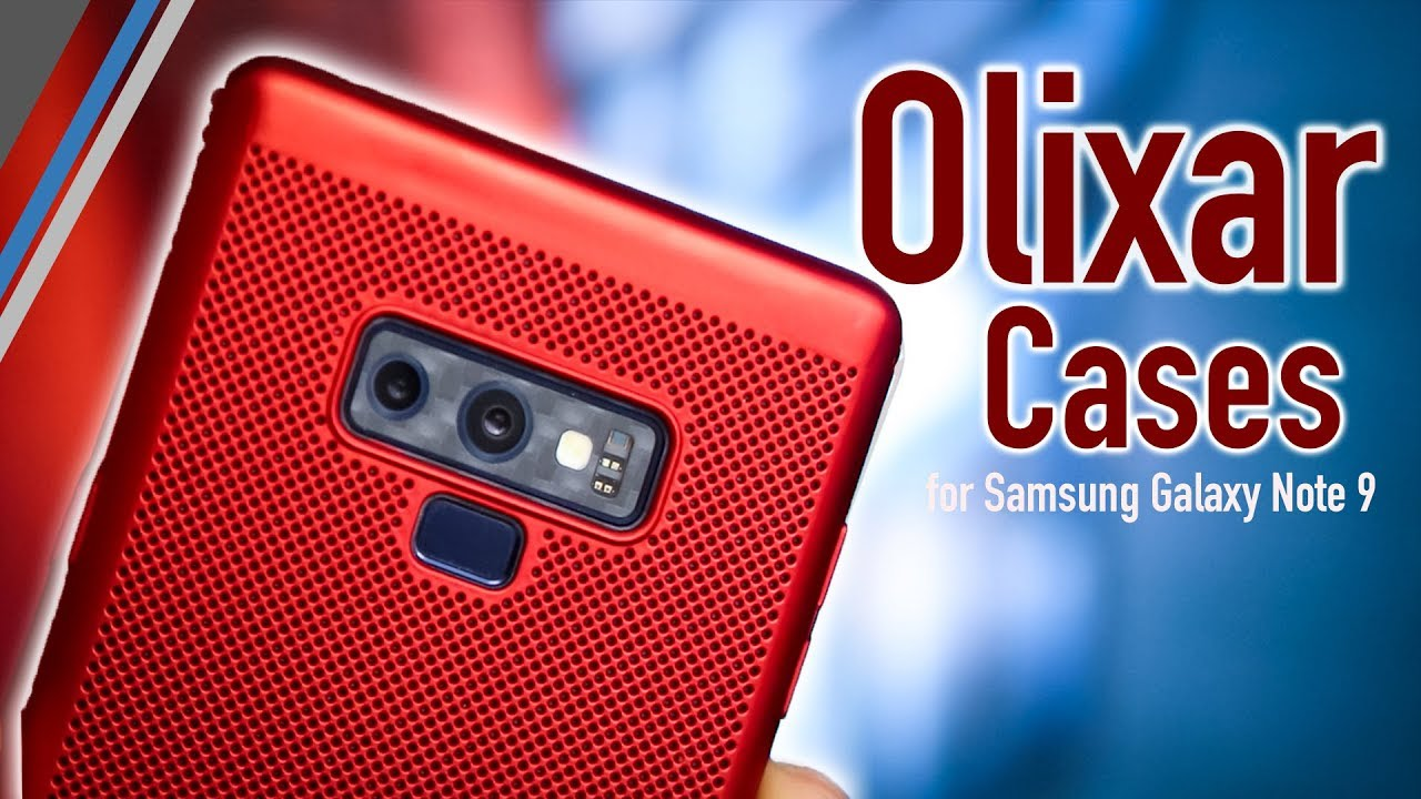 online store 4372c 70d80 Samsung Galaxy Note 9 Olixar Cases Review