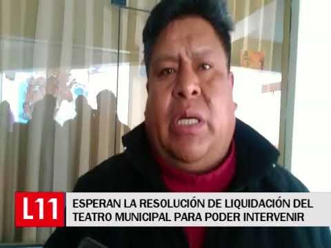 DENUNCIARAN A RESPONSABLES POR LA MALA CONSTRUCCION DEL TEATRO MUNICIPAL