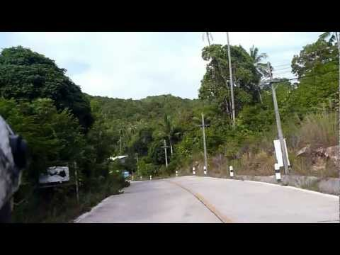 2012 09 17Ko Pha Ngan33パンガンAround Mae Haad From THONG SALA HD動画