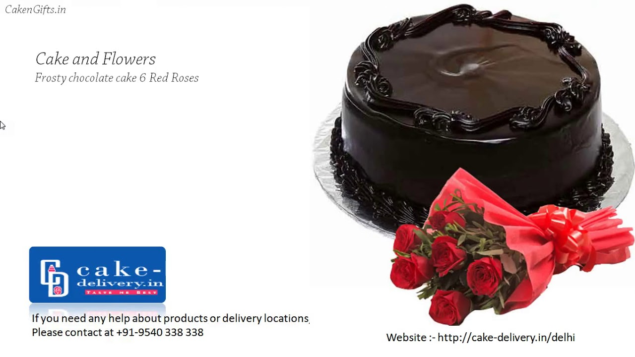 Choose Top Best 10 Chocolate Heart Shape Cakes And Flowers For Cake