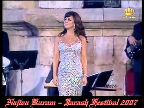 Najwa Karam  Mawwal + Medley 1 - Jarash 2007
