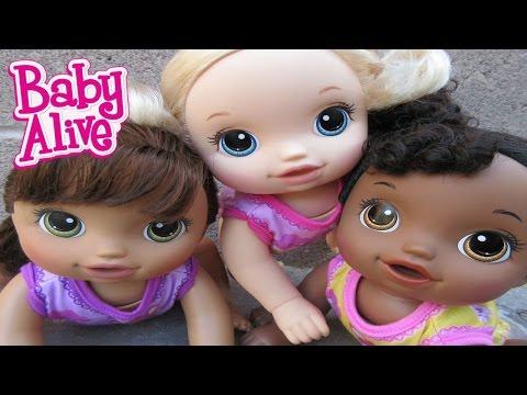BABY ALIVE New Baby Go Bye Bye Baby Alive Dolls!