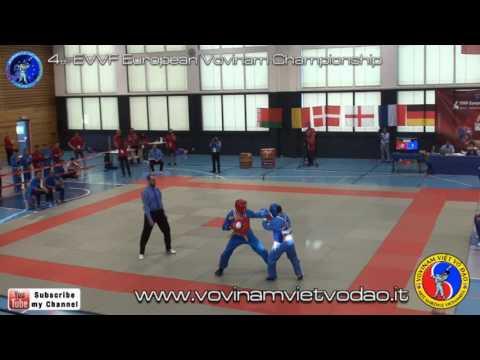 4th EVVF European Vovinam Championship - Fight male -72kg - FINAL