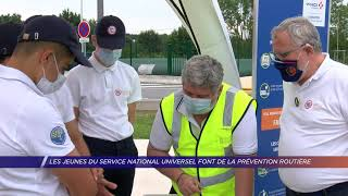 Yvelines | Les jeunes du service national universel font de la prévention routière