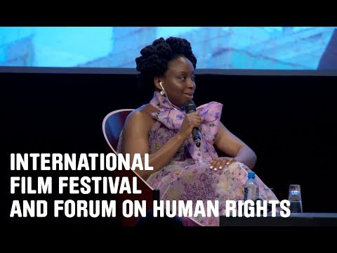 Discussion with Chimamanda Ngozi Adichie • English