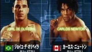 JOHIL DE OLIVEIRA VS CARLOS NEWTON PRIDE 12